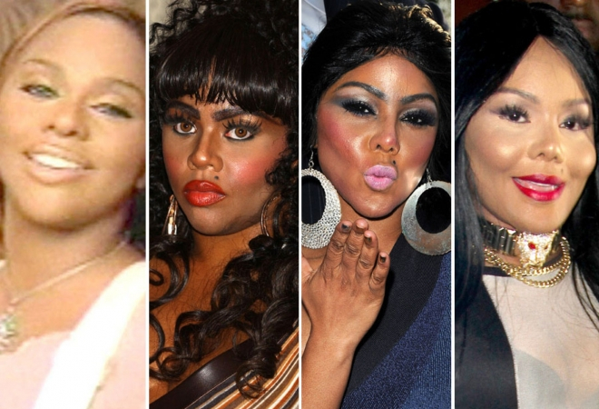 Lil Kim Before and After