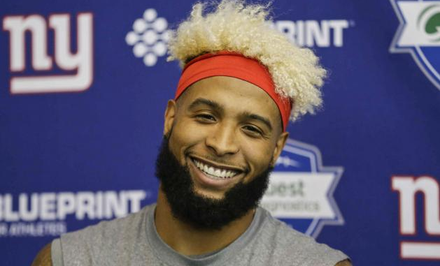 Odell Beckham Jr.. Hair
